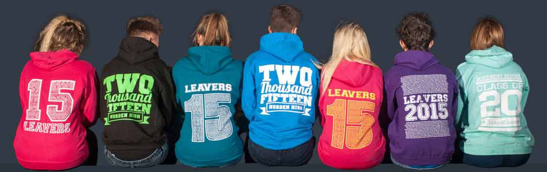 Leavers Hoodies 2015 selection