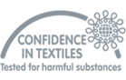 Confidence in textiles, tested for harmful substances